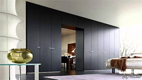 Wooden Bedroom Wardrobe Sliding Door With Modern