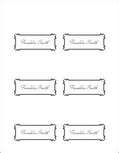 avery templates place cards   sheet