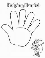 Coloring Hands Hand Helping Pages Drawing Handcuffs Palm Printable Template Holding Sheet Getcolorings Getdrawings Praying Sketch Templates sketch template