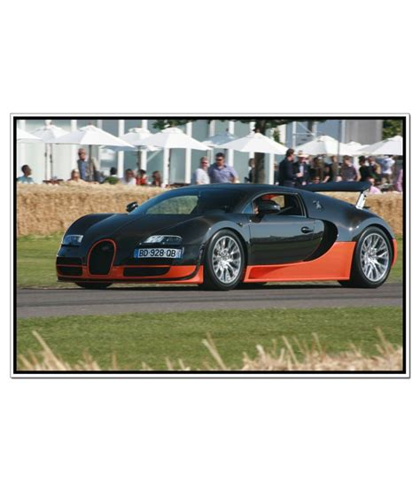So the veyron is equipped with eight airbags and abs with tcs (traction control system) that keeps the. Shopolica Bugatti Veyron Poster: Buy Shopolica Bugatti Veyron Poster at Best Price in India on ...