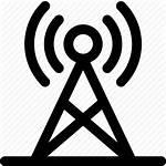 Radio Tower Icon Antenna Signal Transmitter Receiver