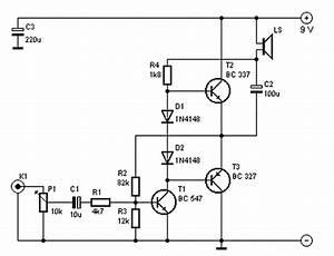 Audio Amplifier 250mw    Diagram Guide