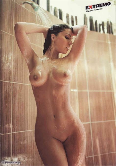 Haydee Navarra Naked In H Extremo Magazine Your Daily Girl
