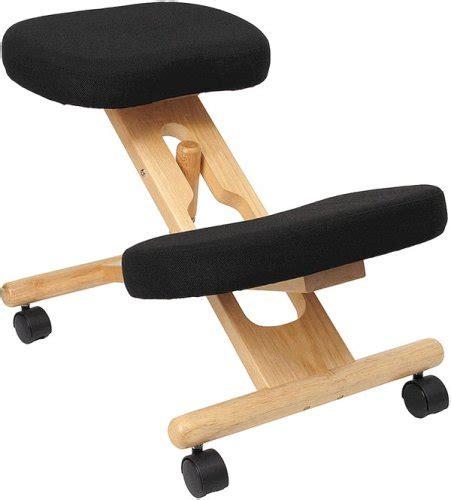 kneeling desk chair review wooden ergonomic kneeling posture office chair review