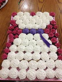 cupcake wedding dress and other shenanigans bridal shower cupcake arrangement