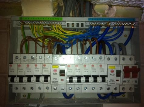 distribution board additional mcb or rcbo diynot