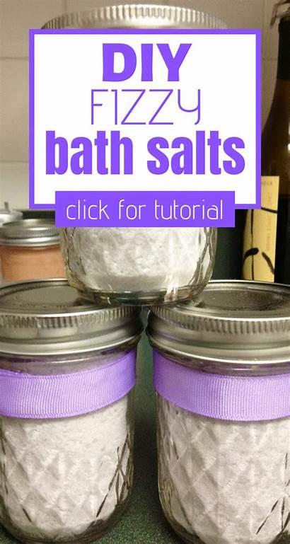 Bath Salts Fizzy Homemade Recipe Oil Sweet