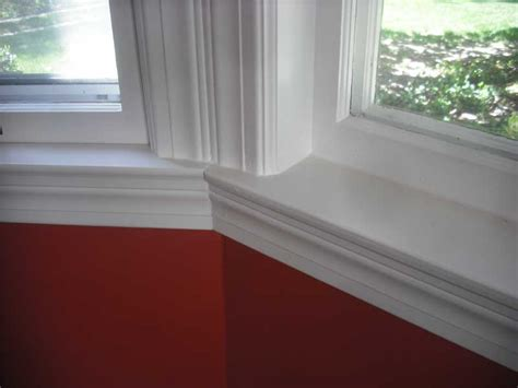 Bay Window Interior Trim by Before And After Bay Window Redo Door Store And Windows