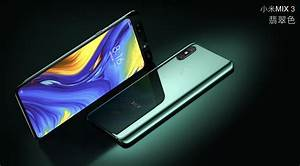 Xiaomi Mi Mix 3 Announced  Four Cameras  No Notch  Slider