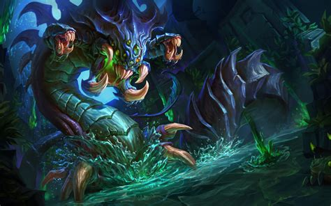 league  legends baron nashor baron monster dragon