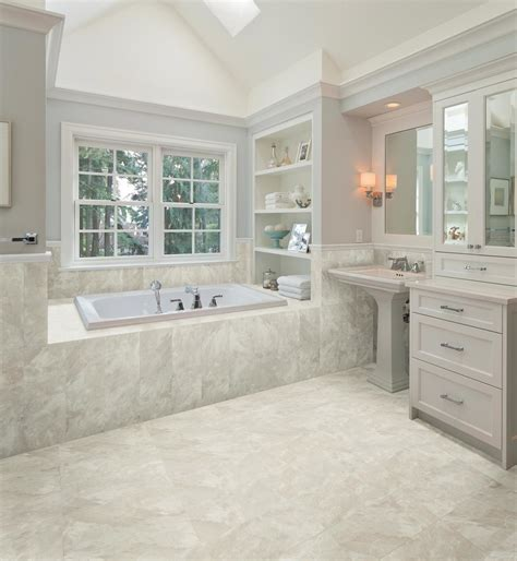 Classic Bathroom Floor Tile by 30 Amazing Pictures And Ideas Classic Bathroom Tile