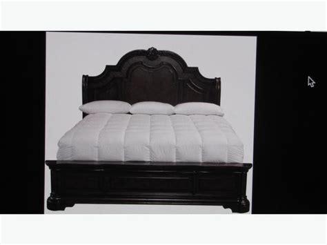 king rails footboard headboard wanted bed looking