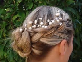 wedding braids braided wedding hairstyle onewed