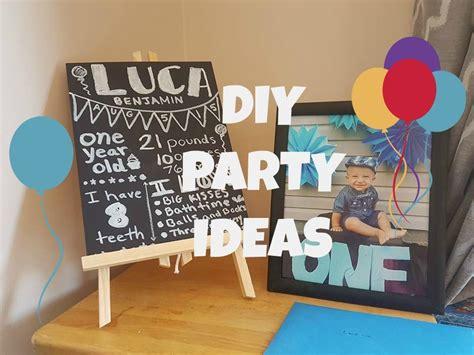 1st birthday party ideas for boys right start on a baby boy 39 s birthday diy ideas