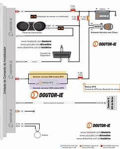 Diagrama El U00e9trico Do Sistema Imobilizador De Partida Do Hyundai Hb20 E Hb20s 1 0 Flex 75  80cv