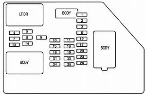 2004 Suburban Fuse Box Diagram