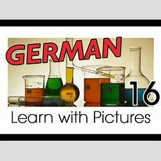 Learn German  German Study Subjects Vocabulary Youtube