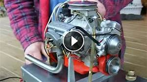 The World U0026 39 S Smallest Chevy 327 V8 Engine That Actually Runs