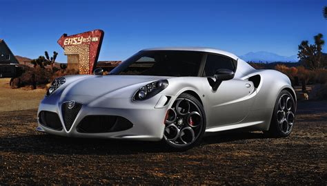 Alfa Romeo Car : Alfa Romeo 4c To Be