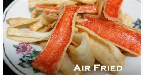 airfried crab sticks   philips airfryer