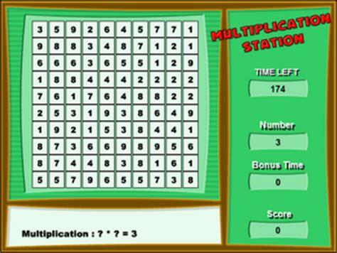 jeu de revision tables de multiplication le de