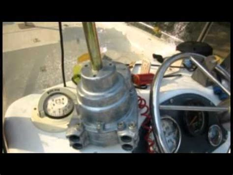 Boat Steering Wheel Play Adjustment by Boat Steering Change Teleflex Dual Cable Manual Seastar Is