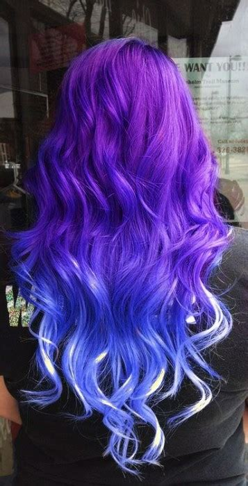 blue ombre hair ideas hairstyles update