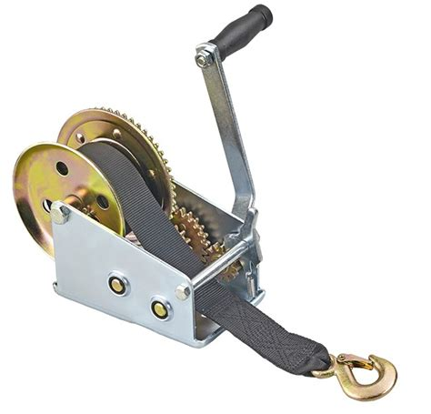 Boat Winch Cable Or Strap by Manual Trailer Winch Cable Or Webbing Strap Plastimo