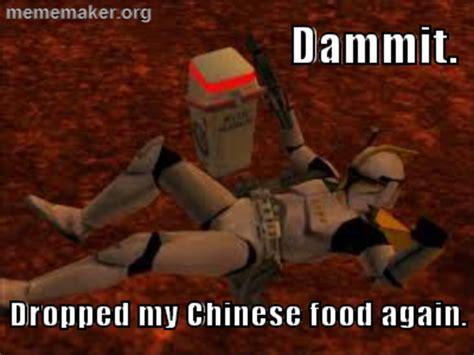 Battlefront Memes - chinese food star wars battlefront joke not original star wars know your meme