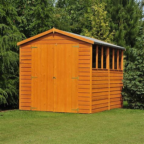 Shire Sheds by 10 X 10 Shire Overlap Workshop Shed With Doors