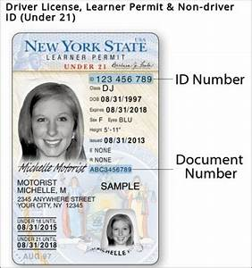 i have a question what is the font typing on a new york With documents needed for dmv drivers license