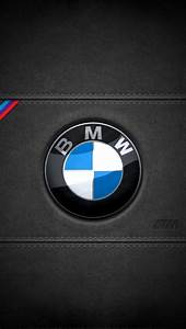 BMW leather logo iPhone 5 Wallpaper (640x1136)