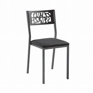 Chaises De Cuisine Modernes : chaise de cuisine moderne en m tal style industriel slide industrie 4 ~ Teatrodelosmanantiales.com Idées de Décoration