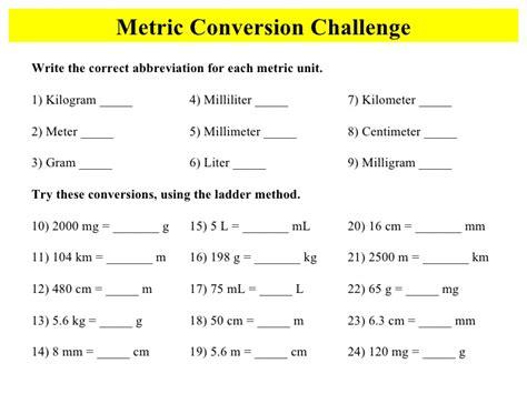 liters in a kilogram metric metconv