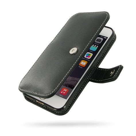 flip iphone 7 iphone 7 leather flip cover pdair sleeve pouch holster flip
