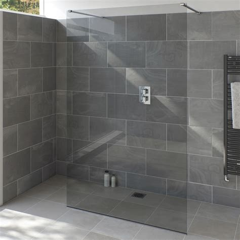 Armano 800 Shower Glass Panel Tissino
