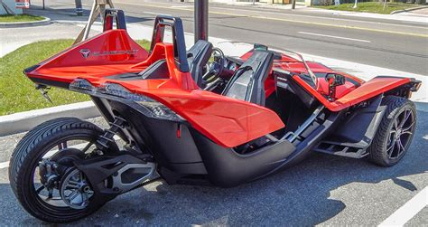 Polaris Slingshot Three Wheel Motorcycle/sports Car