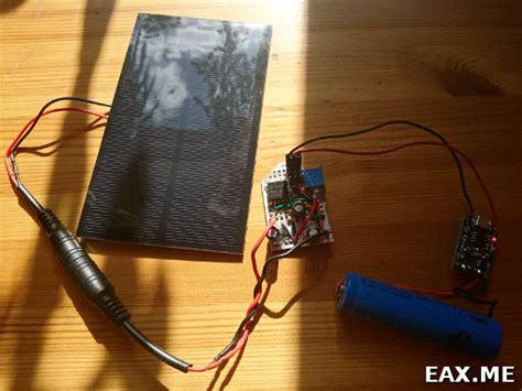 Powerbank с солнечной панелью своими руками