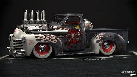 1920x1080 Chevrolet 3100, Hod Rod, American Muscle, Car