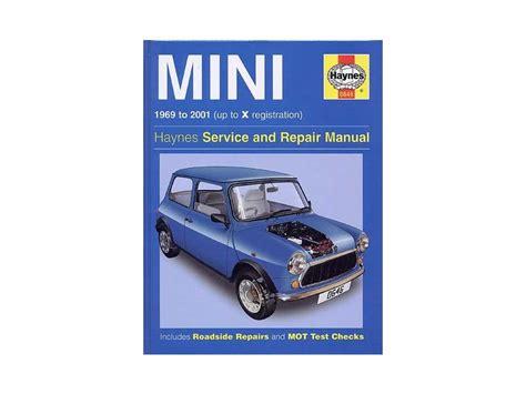 mini cooper instructions austin mini haynes workshop manual 1969 2001