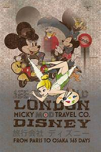 MICKY-MOD Travel Poster – DANCONIA CREATIVE