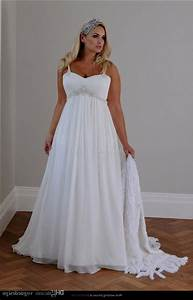 Plus size beach wedding dresses naf dresses for Plus sized wedding dresses