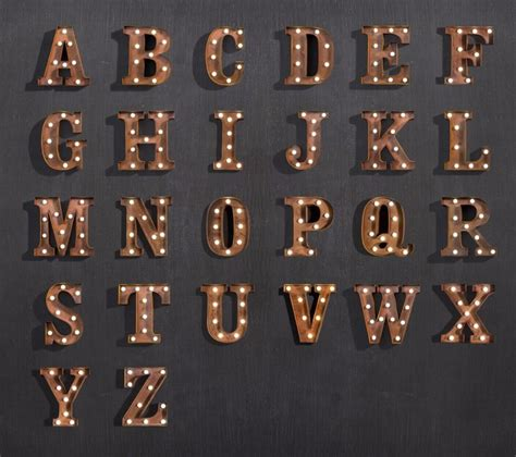aliexpress buy metal led lights letter ls wall