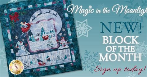 shabby fabrics block of the month the shabby a quilting blog by shabby fabrics magic in the moonlight a new block of the