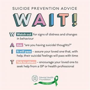 Suicide Prevention  How To Help Someone Who Is Suicidal