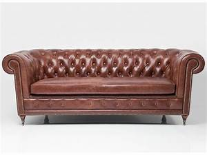 Oxford vintage eco sofa by kare design for Oxford tufted sectional sofa