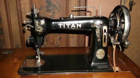 kindernähmaschine singer alt n 228 hmaschine titan winselmann altenburg fussn 228 hmaschine alt titan sewing machine vintage or