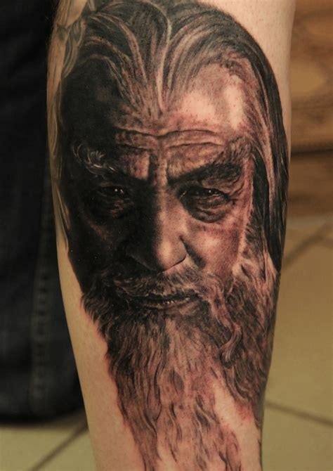 gandalf lord tattoo  andy engel tattoomagz tattoo