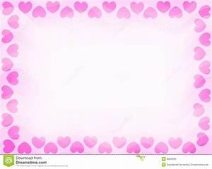 Hearts Border Invitation Stock Photo - Image: 8434330