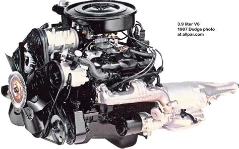 The 3.9 liter LA series Dodge V6 engine